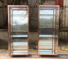 Pair of display cases (sold)