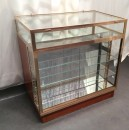 Vintage shop counter desk display cabinet
