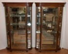 Pair of vintage display cases (sold)