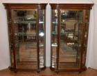 Pair of vintage display cases (reserved)