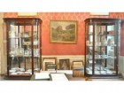 Exceptional pair of display case
