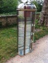 Unusual wall vintage display case