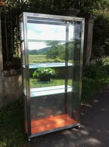 Art deco display cabinet