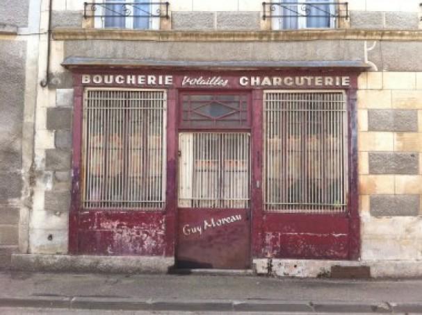 A rustic butchery