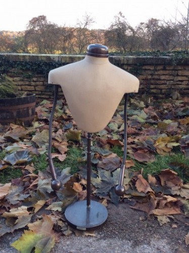 Vintage dress mannequin form