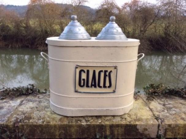 Vintage icecream box