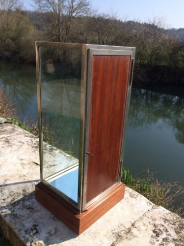Very small vintage display case