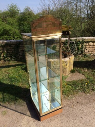 Vintage tobacconist display case