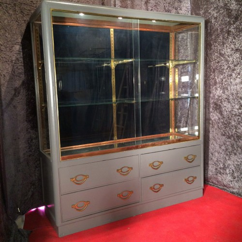 Vintage shop display case