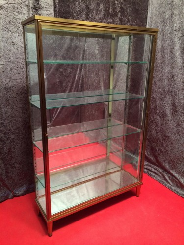 Vintage stand display case