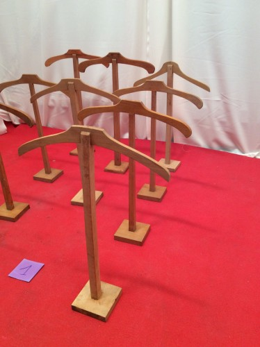 Clothes stand display