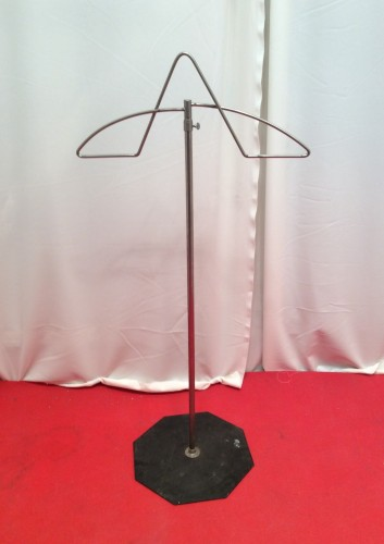 Vintage clothes stand display