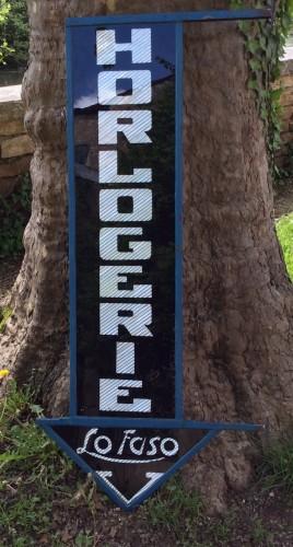 Vintage advertising sign