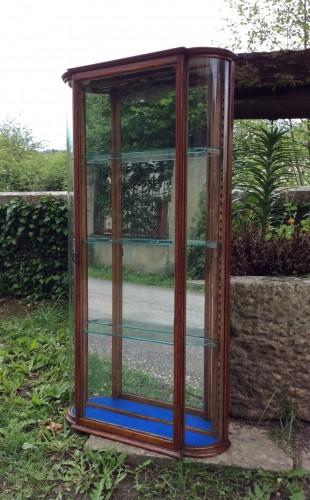 Vintage wall display case
