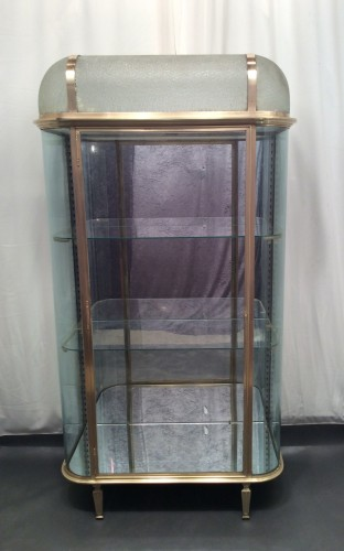 Big vintage hotel display case
