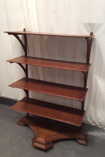 Vintage shop shelves