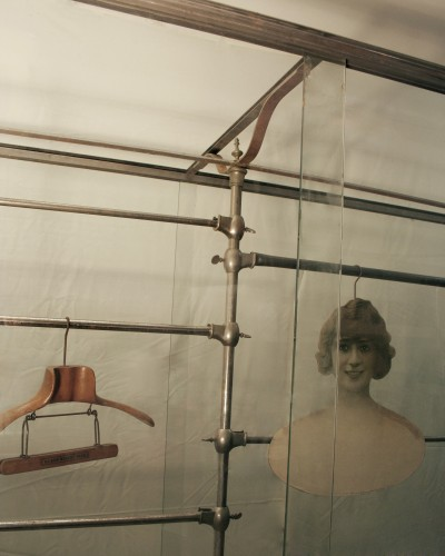 Big shop vintage display case