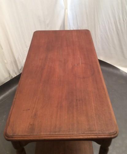 Vintage display table.