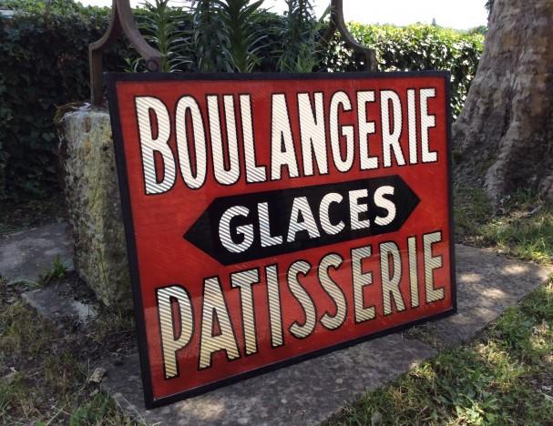 Vintage bakery sign.