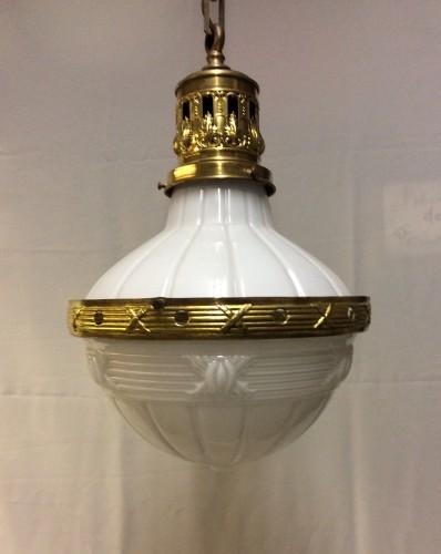 Old suspension lamp