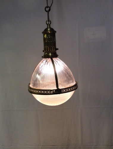 Old suspension lamp.