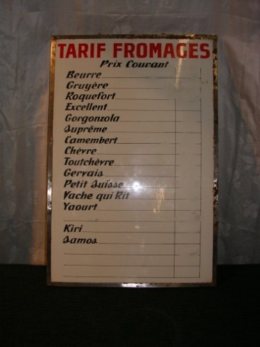 French cheese price list