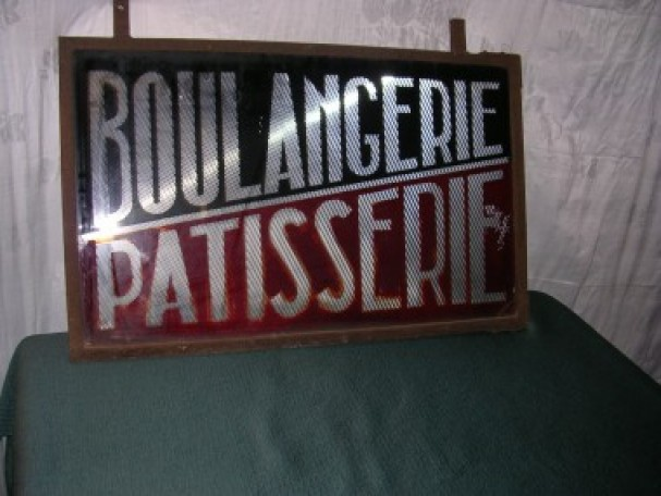Vintage bakery sign