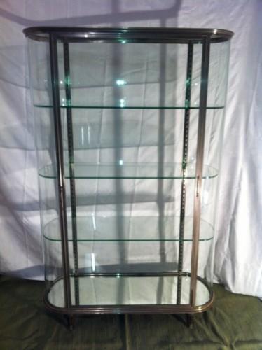 Large vintage central display case