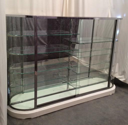 Big vintage shop display case.