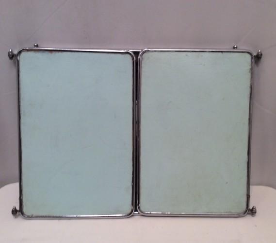 Vintage wall triptych mirror
