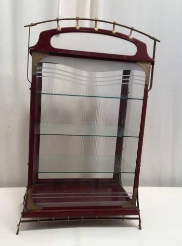 Vintage grocery display case