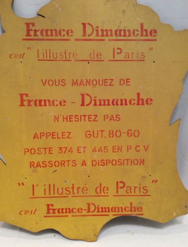 Vintage advertising sign (sold)
