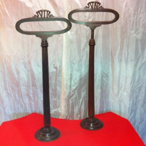 Pair of vintage stand displays