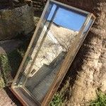 Vintage shop display case
