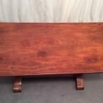 Vintage shop table