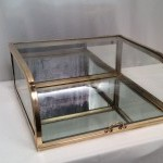 Vintage small counter display case.