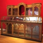 Vntage « art nouveau » shop display cabinet.