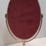Vintage shop mirror.