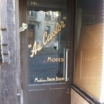 A vintage shop