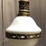 Vintage small suspension lamp.