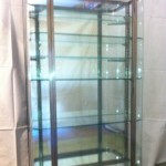Large vintage display case