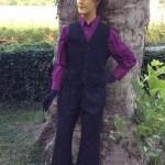 Vntage androgynous shop mannequin.